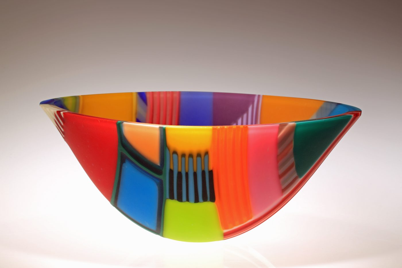 Indian Intarsia - Winner of Glass Sellers Award at British Glass Biennale 2015